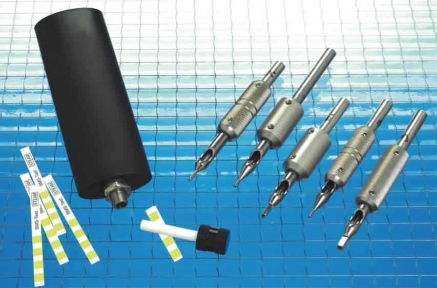 Tattoo-PCD als helixtest voor het periodiek testen van een autoclaaf die gebruikt wordt voor tatoeage instrumenten.
